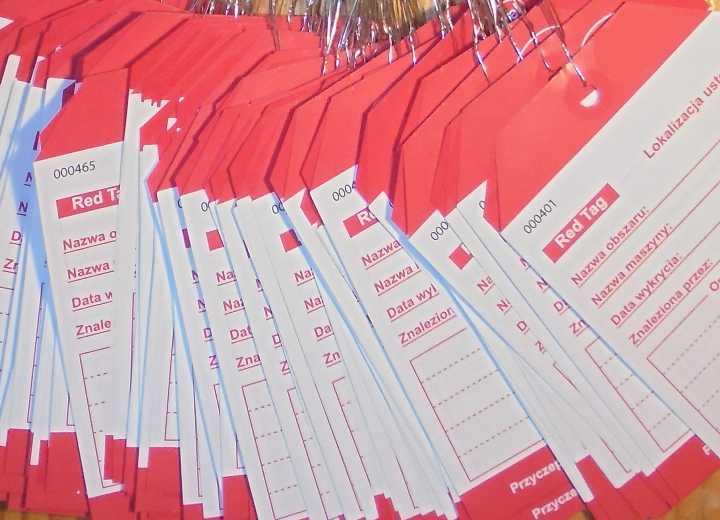 Karta Red Tag heavy duty