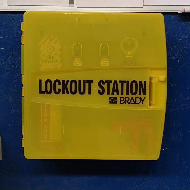 Stacja Lockout Tagout